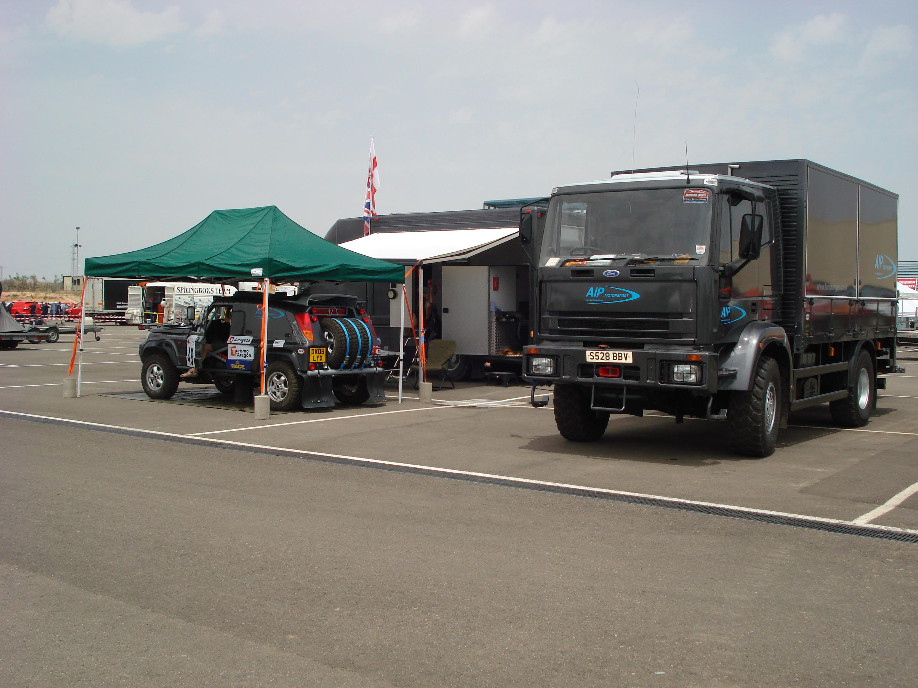 Xceed- AIP Motorsport Support Vehicles
